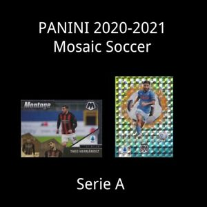 Panini Mosaic Serie A 2020-2021 FOOTBALL SOCCER CARD Insert
