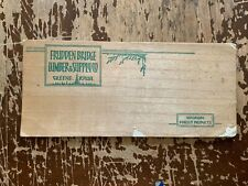 Vintage Frudden Bridge Lumber & Supply Co Greene Iowa Ink Blotter