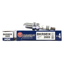NGK IRIDIUM IX SPARK PLUGS HEAT 9 BKR9EIX (4)