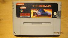 TOP Gear fuer SNES Super Nintendo. Wagen NUR. PAL.