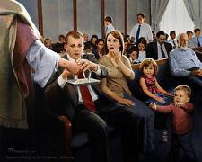 Sacrament Meeting Painting Doc Christensen Mormon LDS Art Savior 11x14 Print