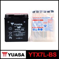 BATTERIA [YUASA] YTX7L-BS (12 VOLT / 6 AMPERE) SIGILLATA+ACIDO