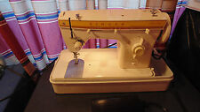 Vintage Singer Fashion mate 360 Sewing Machine, Foot Pedal, Case, Italy Unit # 2
