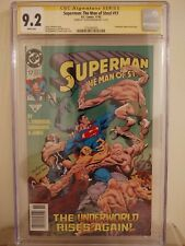 Superman: The Man of Steel #17 CGC 9.2 AUTOGRAPHED by LOUISE SIMONSON