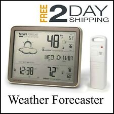 Wireless Digital Home Weather Meter Station Forecast Indoor Outdoor Thermometer