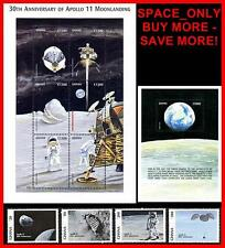 Ghana = Space Apollo Project set + S/S (block) + M/S Cv$17.00 Mnh