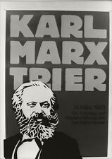 Vintage Press Photo,Karl Marx Trier,Stuart Franklin,Agence Sygma,Magnum