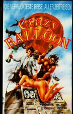 """VHS - """" Crazy BALLOON - Die verrückteste Reise aller Zeitreisen """" (1988)"""