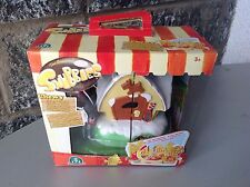 Snubbies Playset House And Chewy St Bernard Dogs NRFB#polly pocket size