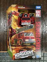 "Transformers WFC Kingdom 7"" Figure Voyager Wave 2 Inferno"