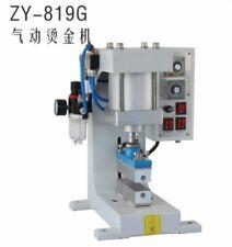 ZY-819G Pneumatische Folienprägung Eindrückung Abgeflacht 4 * 15Cm Neu is