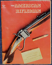 Vintage Magazine American Rifleman JANUARY 1968 !! What's Ahead for the M16? !!