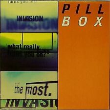 """PILL BOX 'INVASION' UK 3-TRACK PICTURE SLEEVE 7"""" SINGLE"""