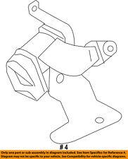 FORD OEM 11-15 Explorer Second Row Seat Belt-Retractor Right EB5Z78611B68DA