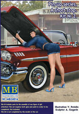 Masterbox 24016  1:24th scale  Pin-up series A Short Stop No. 2 Female Mechanic