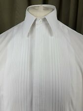 """Gieves & Hawkes 100% Cotton Dress Evening Dinner Double Cuff Shirt 15.5"""""""