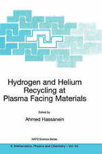Hydrogen and Helium Recycling at Plasma Facing Materials (Nato Science Series II