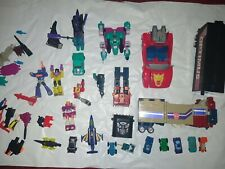 Transformers G1 Vintage Lot 1980s Rare Toys Autobots Insecticons Mini look