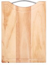 Large Chopping board Cutting Board With handle 34 x 24cm Grooved