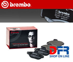 P23109 BREMBO Kit 4 pastiglie pattini freno ALFA 159 Sportwagon 1.9 JTDM 16V