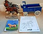 BREYER DELIVERY WAGON WITH CLYDESDALE TEAM 2405