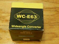 Nikon wide angle converter WC-E63  0.63x