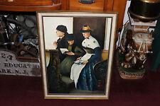 Kerner Leibl Painting 3 Women Praying At Church-Wilhelm Leibl-Religious Painting