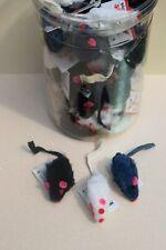 Furry Mice Cat Toys - Lots 5/10/30/60 Real Animal Fur Small Cat Kitten Toys