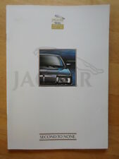 JAGUAR DAIMLER Approved Used Cars 1990s UK Mkt Publicity Brochure - XJS XJ6 V12