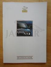 JAGUAR DAIMLER Approved Used Cars 1990s UK Mkt Publicity Brochure - XJS XJ6 V12
