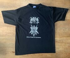 rare Vintage horna shirt 1burzum satyricon darkthrone satanic warmaster goatmoon