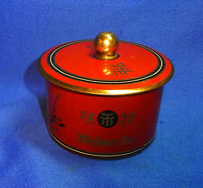 Vintage German Tea Tin Box Messmer - Tee #BL