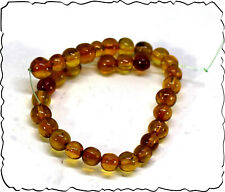 New listing Wholesale lot 33 Dominican Clear yellow Red Amber Sphere Round Beads 8.6mm