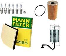 SERVICE KIT FITS PORSCHE BOXSTER 986 2.5 AIR /OIL/FUEL FILTER / 6 X SPARK PLUGS