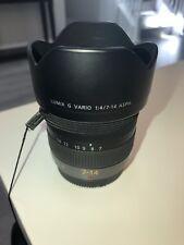 Panasonic Lumix G Vario 7-14mm f/4 AE Aspherical AF ED Lens
