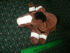 """Glove / Hand Puppet ~ Brown HORSE  ~ Plush ~ CALTOY ~ Approximately 12"""" ~ NEW"""
