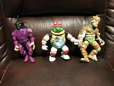Vintage Teenage Mutant Ninja Turtles action figures look