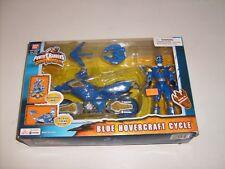Power Rangers Dino Thunder Blue Ranger Hovercraft Cycle & Figure Vehicle Set NEW