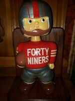 San Francisco 49ers Promo Doll 1960 Bobblehead Bobbing Head Nodder