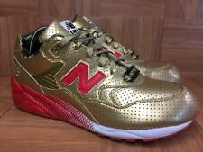 RARE🔥 New Balance MT580 X Undefeated X Stussy Metallic Gold Red Sz 11 Trainers