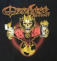 Authentic Black Ozzfest 2007 2XL Tour T Shirt ozzy osbourne
