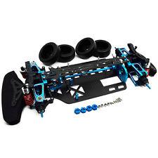 Aluminium & Carbon TT01 Rahmensatz Frame Kit für Tamiya TT01E