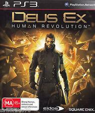 DEUS Ex Human Revolution - PlayStation Game PS3