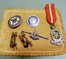 Sterling Silver Vintage Nursing Badge Personal Group