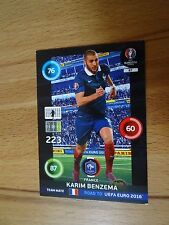 Panini Adrenalyn XL Road to Uefa Euro 2016 Nr. 87 Karim Benzema Frankreich