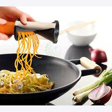 Vegetable Fruit Spiral Shred Process Device Cutter Slicer Peeler Kitchen Tool