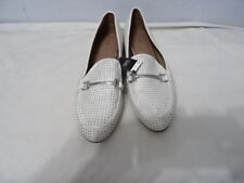 NEXT WOMENS WHITE SLIP ONS WITH BAR SHOES SIZE UK 8 RRP-£30