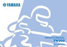 Yamaha Owners Manual Book 1998 TW200
