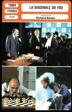 FICHE CINEMA : LA DIAGONALE DU FOU - Piccoli,Ullmann 1984 - Dangerous Moves