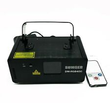 Sumger Professional DM-RGB400 Stage Light Laser Scanner DJ Disco Beam No Key